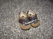 SEE KAI RUN 3 INFANT BABY BROWN LEATHER SHOES BOYS