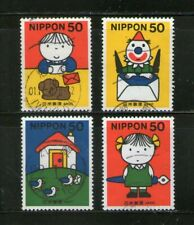 Japan : Letter Writing Day-2000, Compl. Set/4, Fu, # 3
