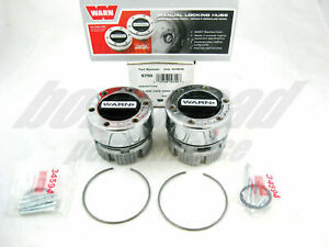 Warn 9790 4WD Manual Locking Hubs 1959-1996 Ford 1/2 Ton Pickup Truck