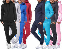Jogginganzug Sportanzug Trainingsanzug Fitness Hoodie Hose Basic Einfarbig Damen