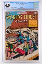World's Finest Comics #67 - CGC 4.0 VG - DC 1953 - Batman & Superman!
