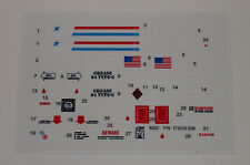 GI Joe AWE A.W.E. Striker Sticker Decal Sheet