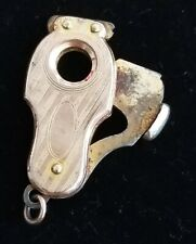 Vintage Goldtone keychain cigar cutter antique ladies