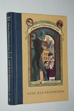 THE BAD BEGINNING by Lemony Snicket  First Edition HC (1999)  Fine-Unread