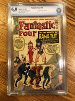 FANTASTIC FOUR #19 (Rama-Tut 1st app, X-Men #1 ad) CBCS 6.0 Marvel 1963