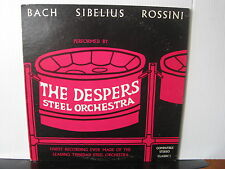 THE DESPERS STEEL ORCHESTRA Bach, Sibelius, Rossini VINYL LP Free UK Post