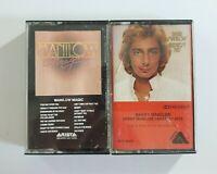 Barry Manilow Audio Cassette Bundle of 2 Tapes (SEE DESCRIPTION FOR TITLES)