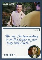 Star Trek TOS Archives /& Inscriptions Base Card #22 Variant 16