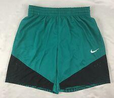 Nike MEN'S Athletic Dri-Fit  Basketball Elite Shorts 904464 Teal Green Size XL