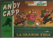 smythe ANDY CAPP N.17 LA GRANDE FUGA garden 1988 comics box de luxe nuova serie