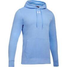 Under Armour 1300123475MD Hustle Fleece Hoodie Carolina Blue Men's Medium