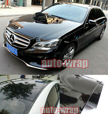 Entire Car Wrap - Hot Glossy Mirror Paint Vinyl Film Sticker Black 50FT X 5FT AC
