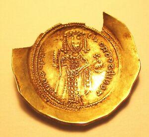 NICEPHORUS III. ELECTRUM HISTAMENOM NOMISMA. Ref. 938.