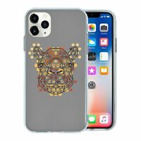 For Apple iPhone 11 PRO Silicone Case Tribal Art Camel - S512