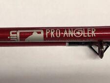"Bruin Pro Angler Fishing Rod 5'6"" medium action 2pc model No. 303M56 red"