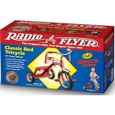 Radio Flyer Classic Red Dual Deck Tricycle 12 Inch Kids Riding Toy