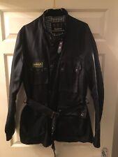 Barbour International Biker Waterproof Jacket Large
