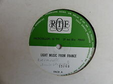 """2X25 CMS 10"""" ORTF Light music from France 15/68 16/68 CARAVELLI JACK DIEVAL"""