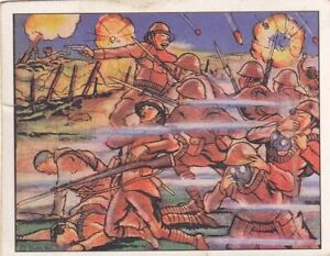 """CHINESE USE GAS IN COUNTEROFFENSIVE -1938 GUM INC """"horrors of war"""" CONFLICT card"""