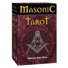 Masonic Tarot by Patricio Diaz Silva 78 Cards Deck with Instruction Book