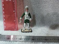 VINTAGE LEAD SOLDIERS WELL PAINTED UNKNOWN MFG 54mm 6.03 green uniform