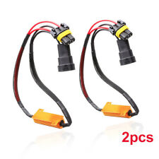 2x 9005 9006 LED DRL HID Headlight Kit Canbus Anti-Flicker Load Resistor Decoder
