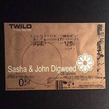 Rare Vintage 1990s NYC Club Flyer: SASHA & JOHN DIGWEED @ TWILO NYC