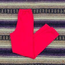 Vtg Hot Pink Sweatpants Womens Small 80s 90s Minimalist Jogger Running Aesthetic