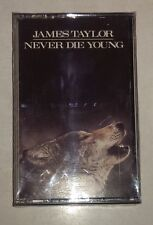 James Taylor Never Die Young Cassette Tape New Unopened 1988 CBS Rec. FCT 40851