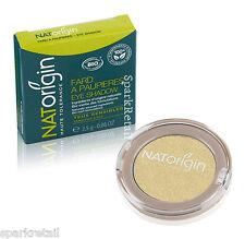 NATOrigin Organic Pressed Powder EYE SHADOW Shimmer Eyeshadow 97 GOLDEN 2.5g