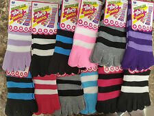 Toe socks, will fit size 10UK kids through to 5UK adults