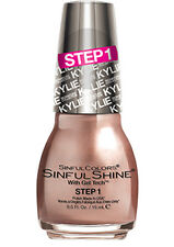 "SINFUL COLORS* Nail Polish ""KING KYLIE KYLIEDESCOPE"" JENNER 2 Step *YOU CHOOSE*"