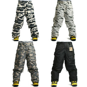 Nice Quality SOUTH PLAY Mens Ski Snowboard Waterproof Snow Winter Pants Trousers