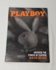 2009 July August Playboy Magazine Olivia Munn Shannon Twins Alec Baldwin