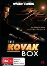 The Kovak Box - DVD - SPANISH Hitchcock STYLE THRILLER MOVIE - Timothy Hutton