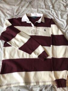 ralph lauren rugby shirt M