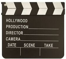Hollywood movie film Clapper board