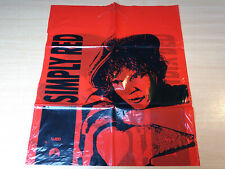 Simply Red/RARE Official Plastic Carrier Bag