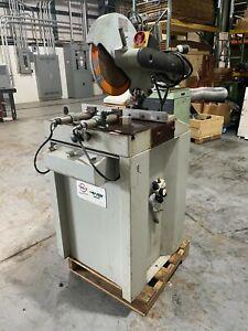 Eisele FOM Industrie 14 inch Hydraulic Saw