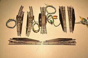 Märklin Z   Weichen mechanisch u. elektrisch, 8562,8563,8568,8569 8560,einzeln