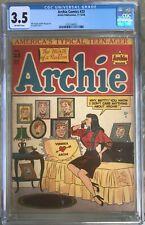"""Archie Comics #23 (1946) CGC 3.5 -- Al Fagaly Veronica """"shrine"""" cover; Vigoda"""