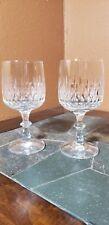 """2 Schott-Zwiesel """"Flamenco"""" Water Goblets Glasses 6 3/4"""""""