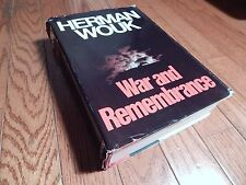 War and Remembrance Herman Wouk (1978, Hardcover) Book Club Edition 4th Printing