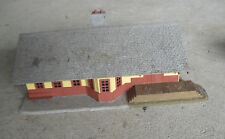Vintage HO Scale Pola Train Passenger Station Building LOOK