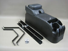P71 Black Center Console w/Armrest with No Drill Mount Kit Crown Victoria Police