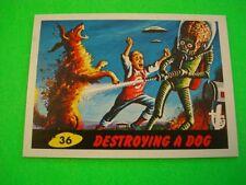 "2013 TOPPS 75TH ANNIVERSARY 1962 ""MARS ATTACKS"" BASE CARD #26 NEW"