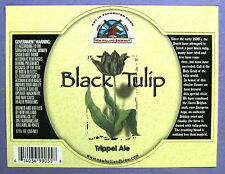 New Holland Brewing Co LLC - BLACK TULIP - TRIPPEL ALE  beer label MI 12 oz