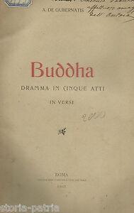 TEATRO_DE GUBERNATIS_BUDDHA_DRAMMA IN VERSI_SHURE'_SENART_ORIENTE_ESOTERISMO_'02