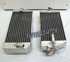 2002-2004 for HONDA CRF450R Aluminum Radiator 2 ROW New left right 2003 CRF 450R