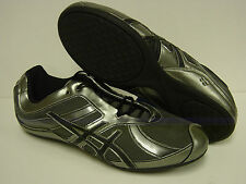 NEW Womens Sz 12 ASICS Gel Rhythmic S175N 8090 Dance Gunmetal Sneakers Shoes
